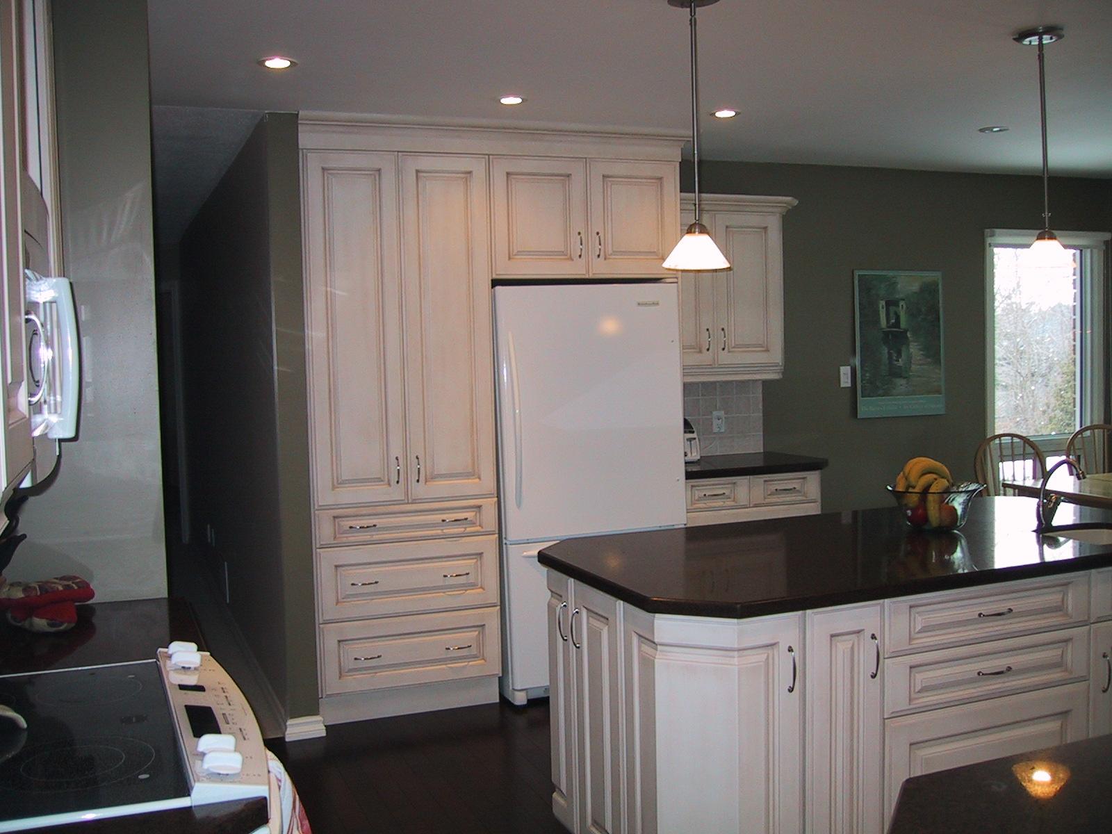 kitchen cabinet bulkhead ideas photo - 4