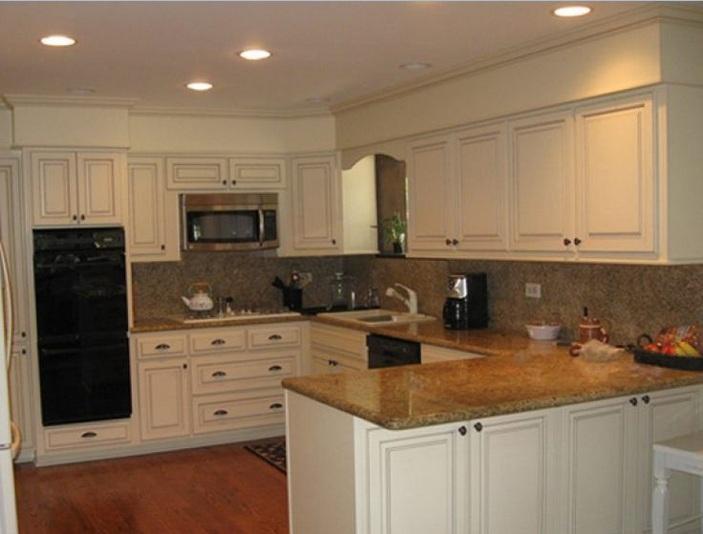 kitchen cabinet bulkhead ideas photo - 6