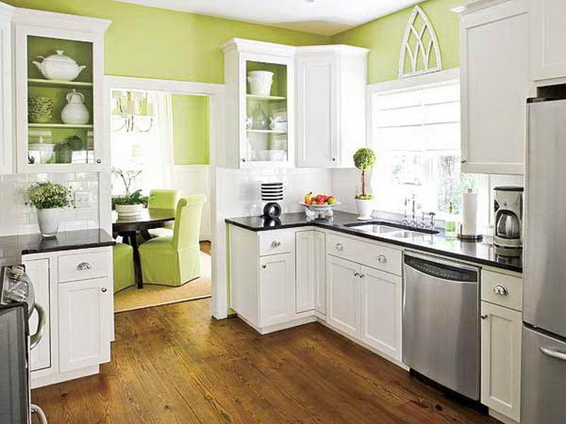 kitchen cabinet color ideas paint photo - 1