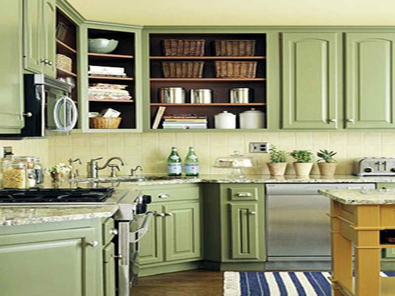 kitchen cabinet color ideas paint photo - 4