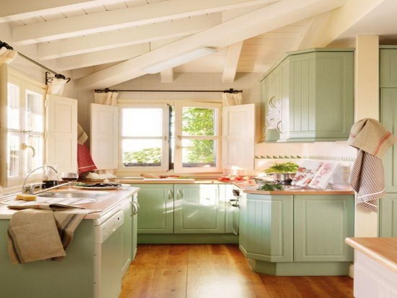 kitchen cabinet color ideas paint photo - 9