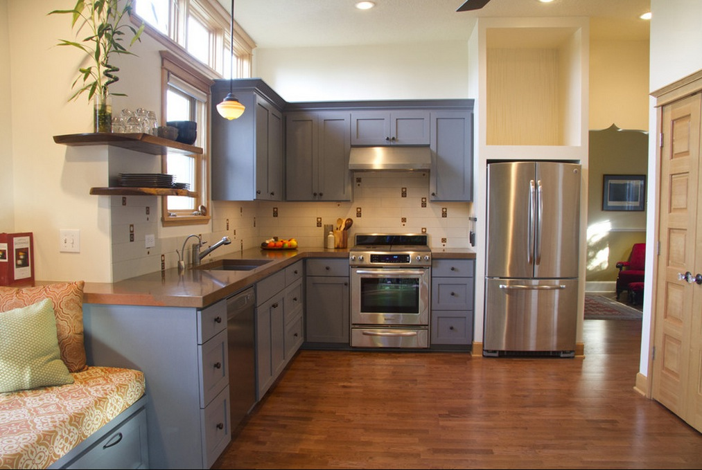 kitchen cabinet colors and ideas photo - 2