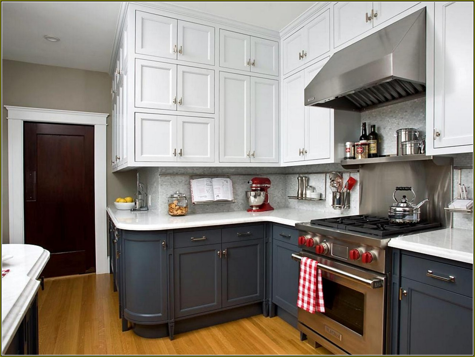 kitchen cabinet colors ideas photo - 2