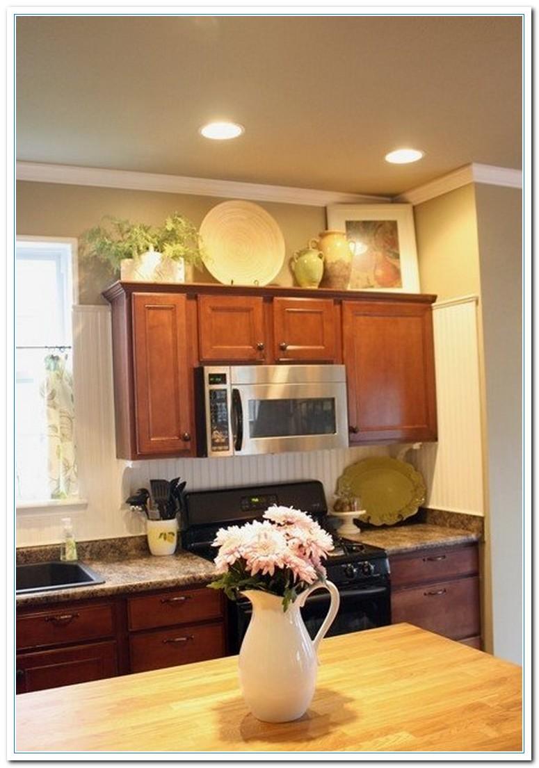 Kitchen cabinet decorating ideas above | Hawk Haven