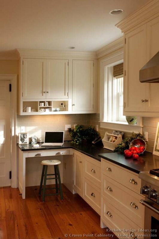 kitchen cabinet desk ideas photo - 5