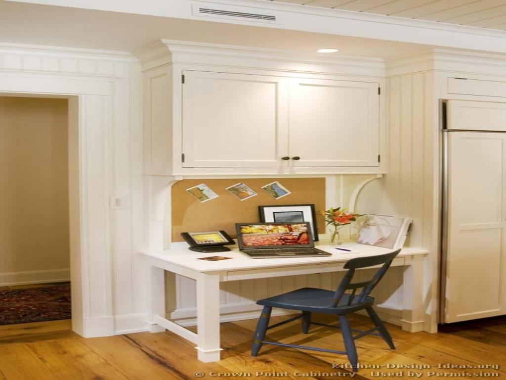 kitchen cabinet desk ideas photo - 6