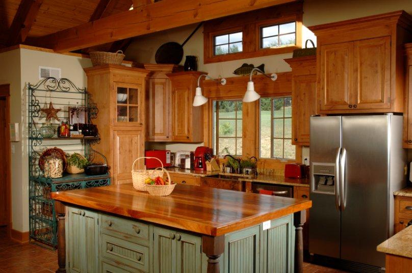 kitchen cabinet finishing ideas photo - 1