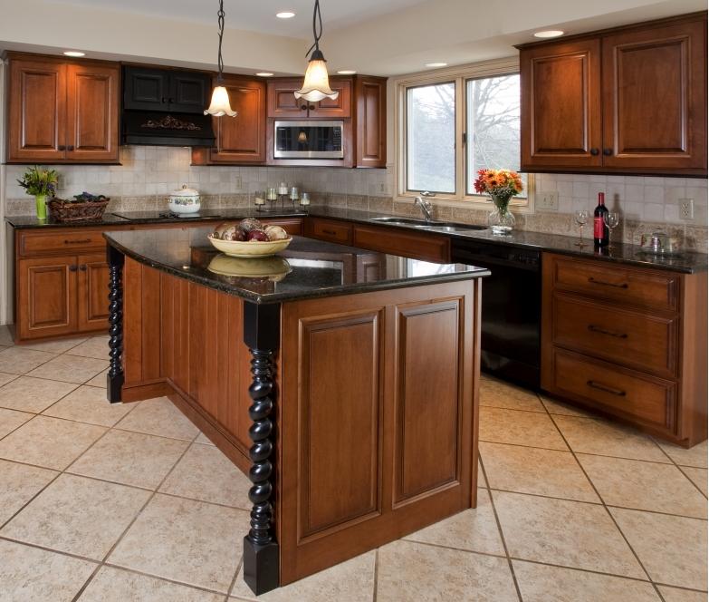kitchen cabinet finishing ideas photo - 2