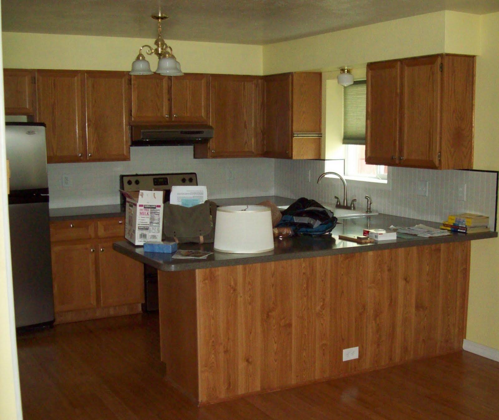 kitchen cabinet finishing ideas photo - 7
