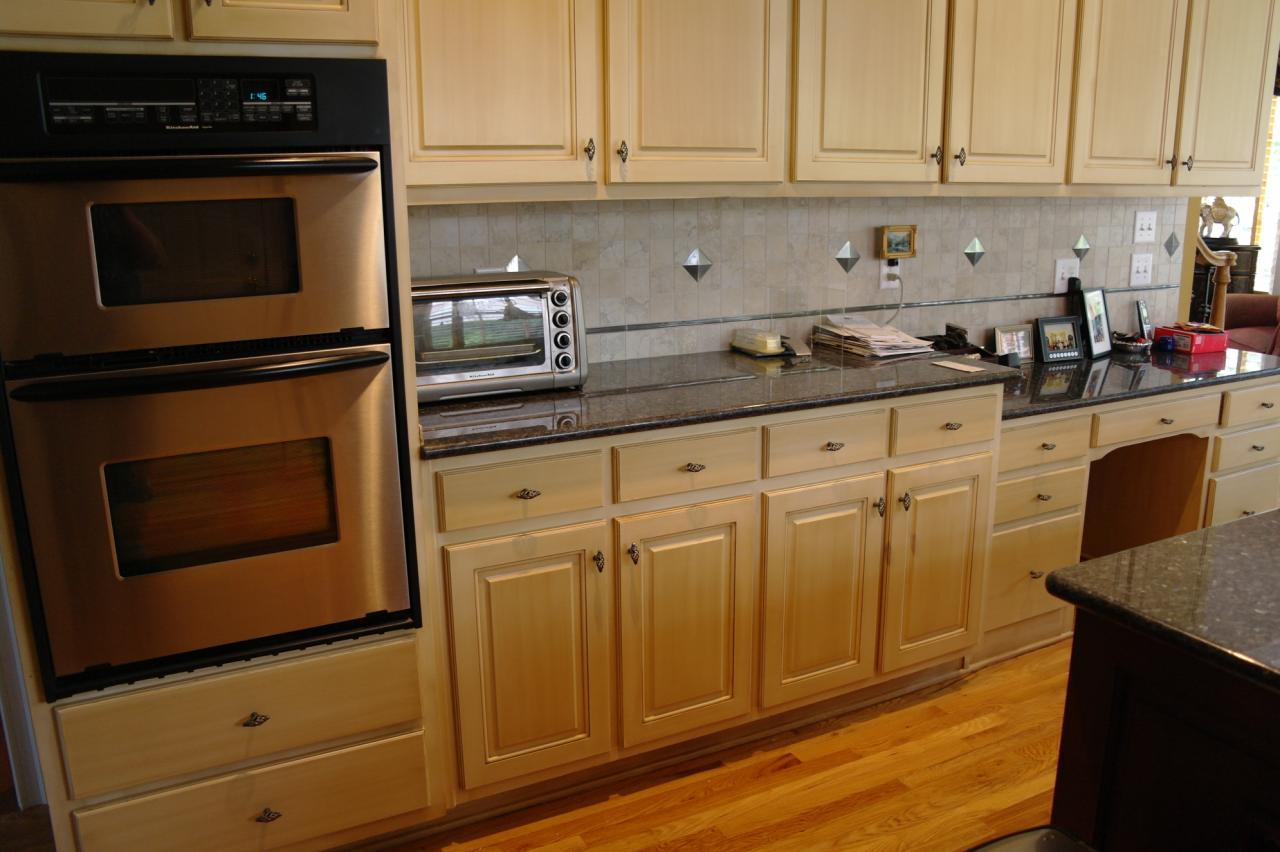 kitchen cabinet finishing ideas photo - 8