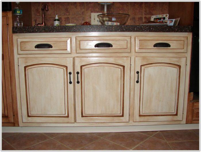 kitchen cabinet finishing ideas photo - 9
