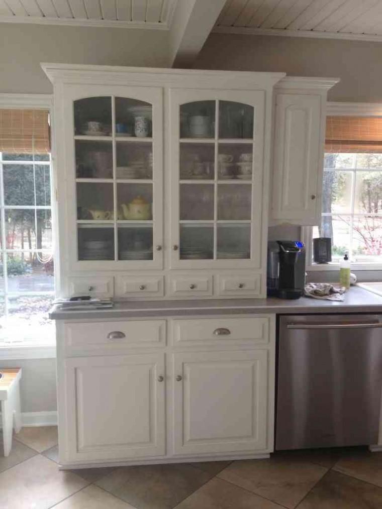 kitchen cabinet hutch ideas photo - 6