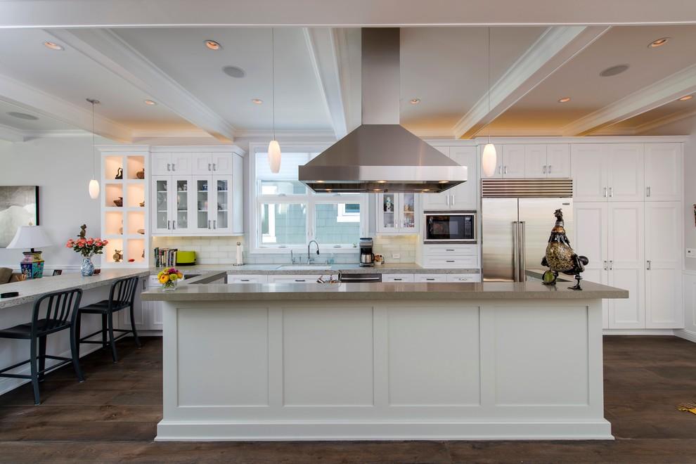 kitchen cabinet ideas beach house photo - 2