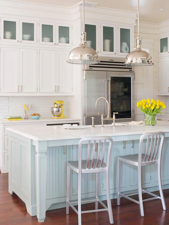 kitchen cabinet ideas beach house photo - 6