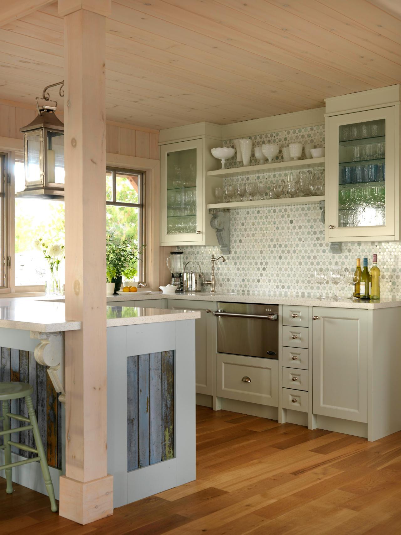 kitchen cabinet ideas beach house photo - 7