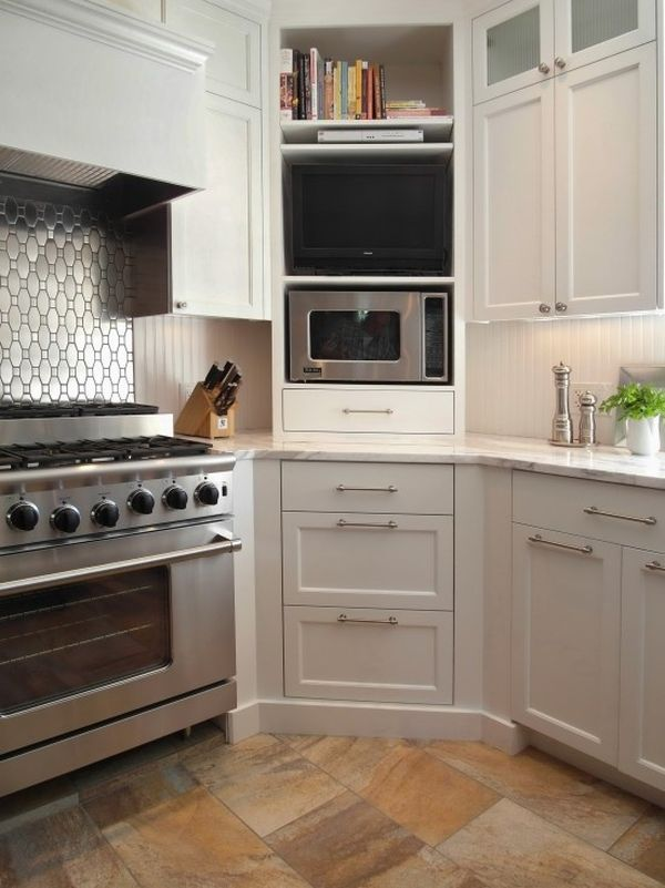 kitchen cabinet ideas for corners photo - 8