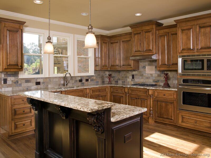 kitchen cabinet ideas with island photo - 1