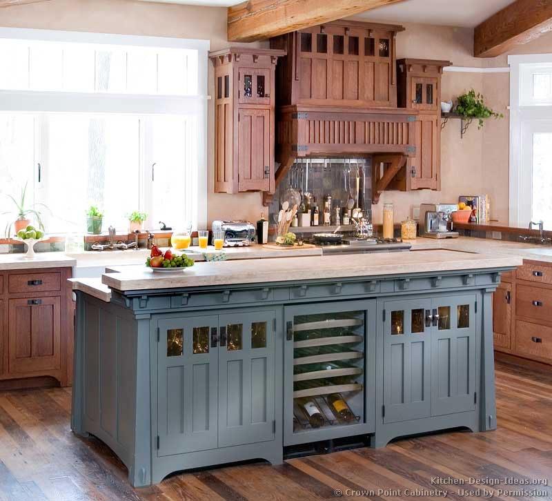 kitchen cabinet ideas with island photo - 2