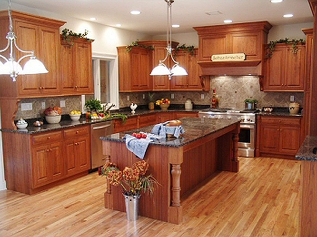 kitchen cabinet ideas with island photo - 3