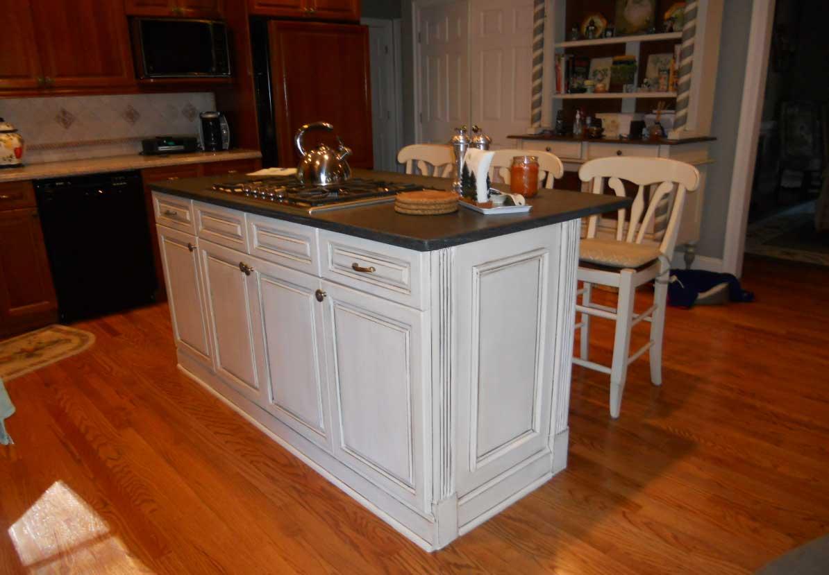 kitchen cabinet ideas with island photo - 5