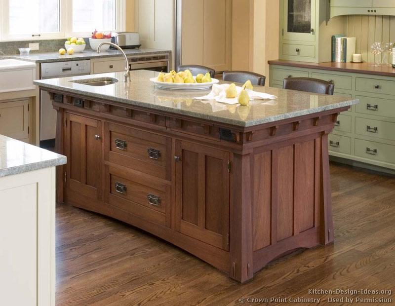 kitchen cabinet ideas with island photo - 7