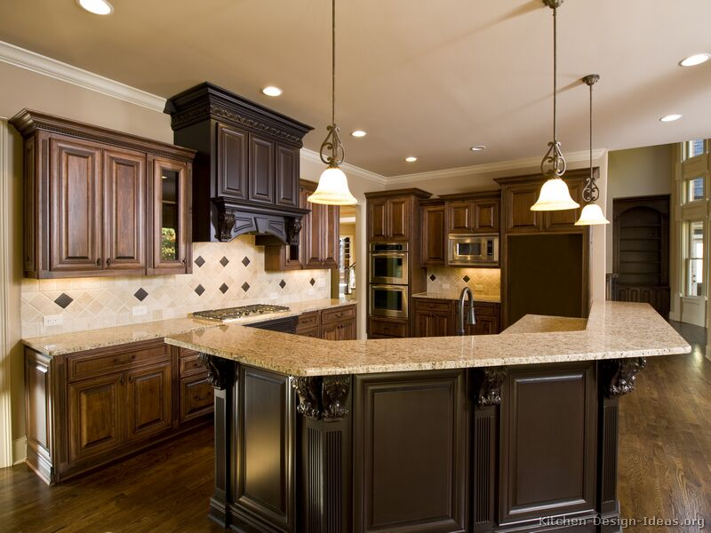 kitchen cabinet ideas with island photo - 8