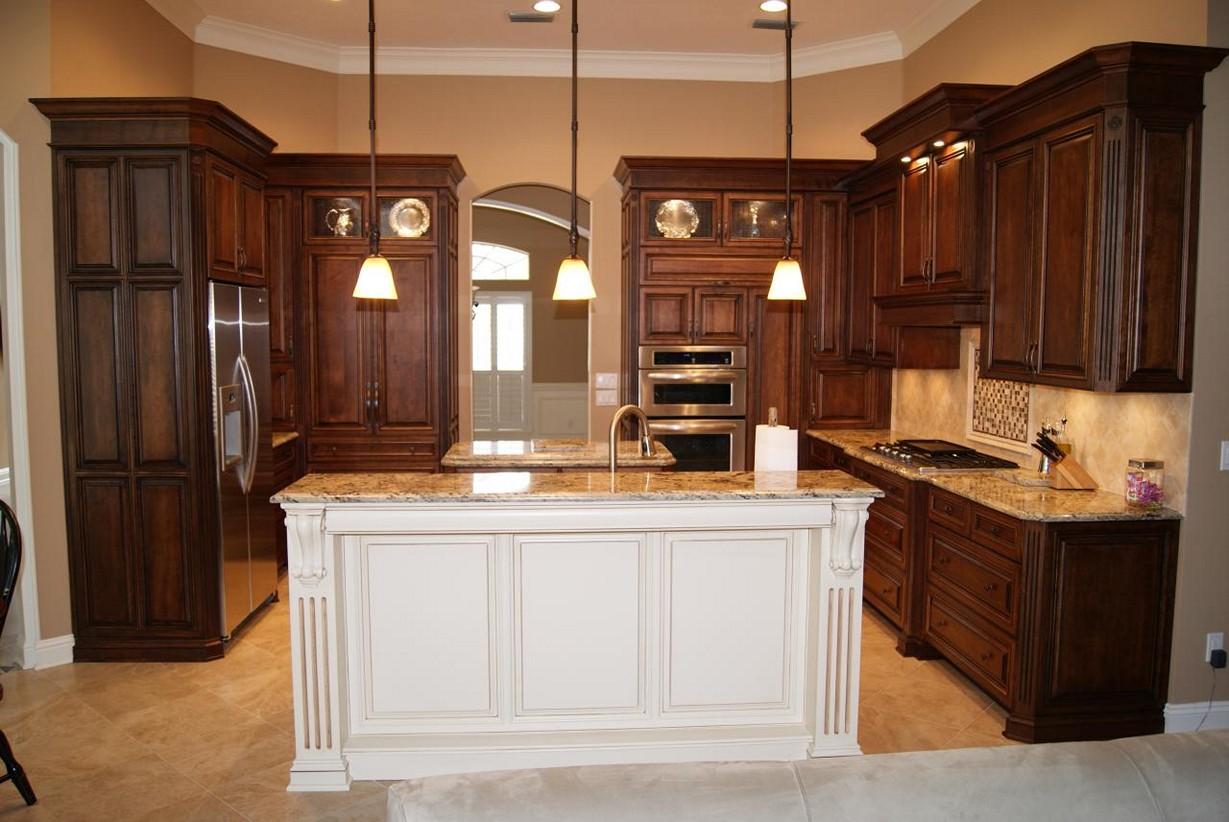 kitchen cabinet ideas with island photo - 9