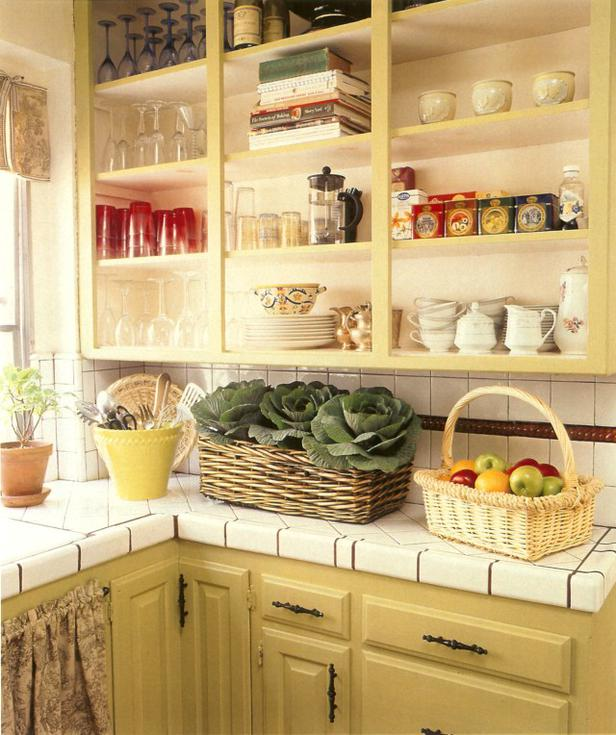 kitchen cabinet shelf ideas photo - 4