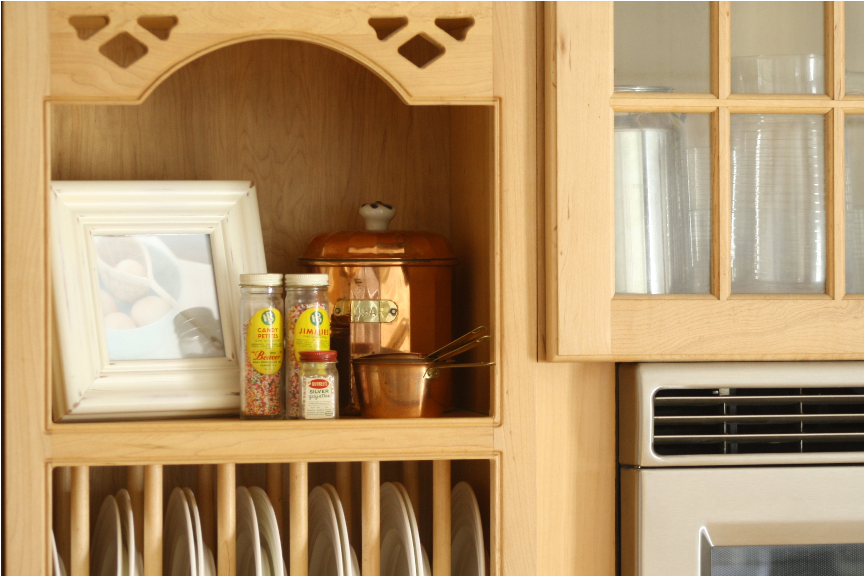 kitchen cabinet shelf ideas photo - 6