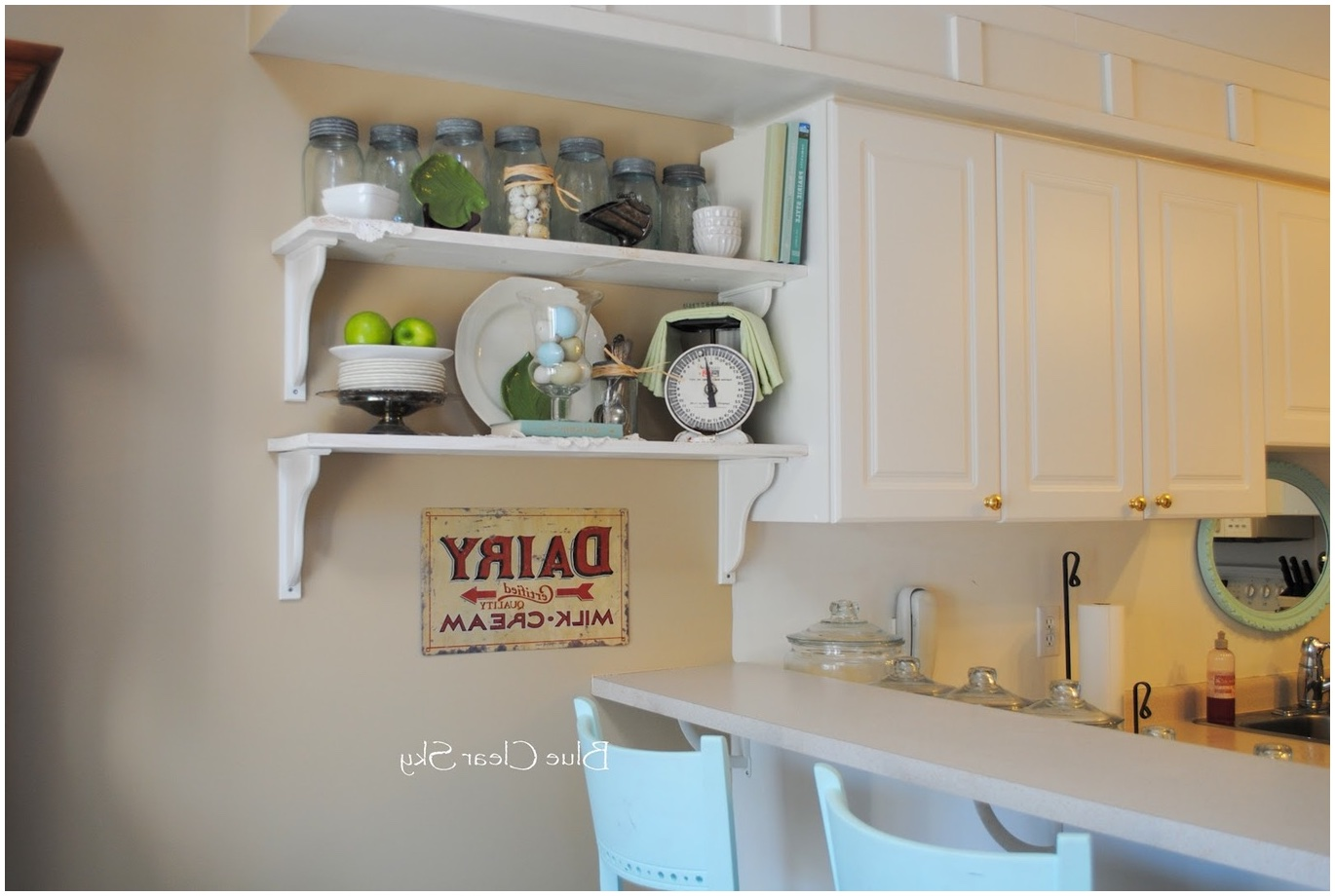 kitchen cabinet shelf ideas photo - 9