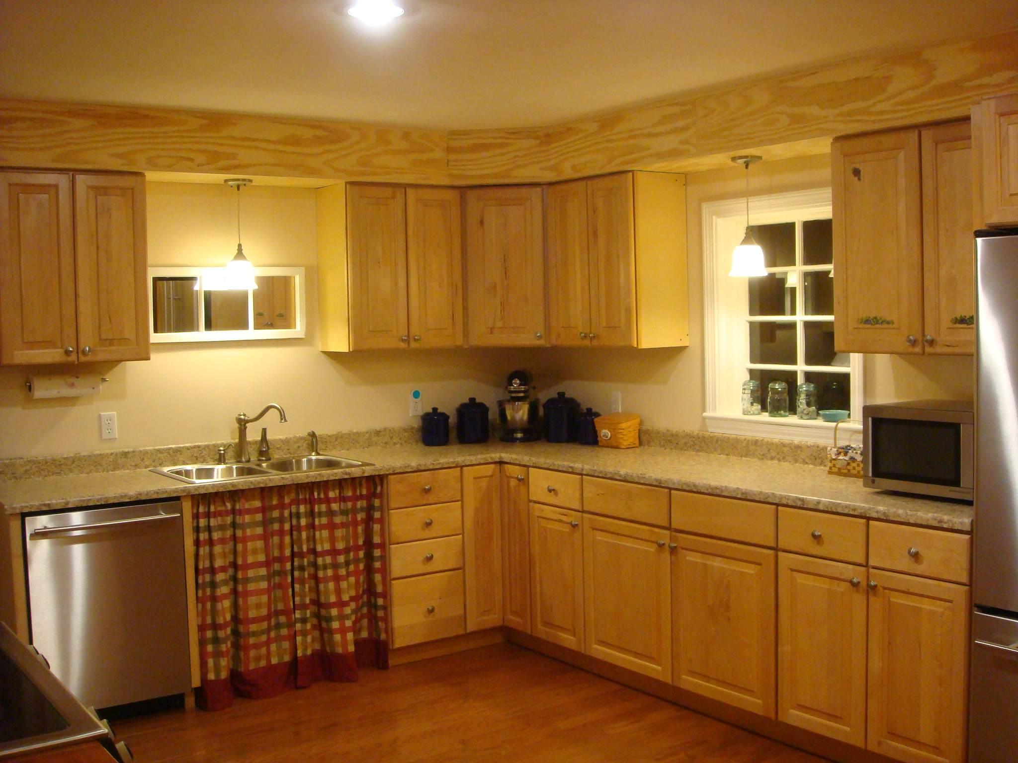 kitchen cabinet soffit ideas photo - 1