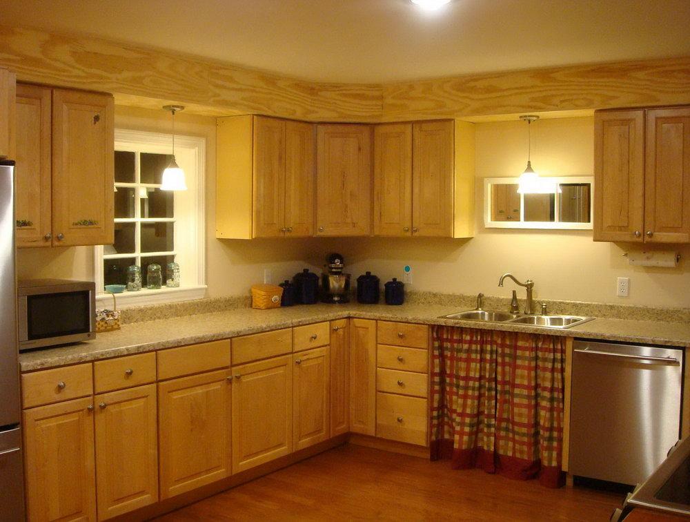 kitchen cabinet soffit ideas photo - 6