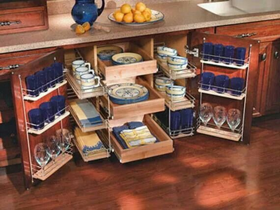 kitchen cabinet space ideas photo - 3
