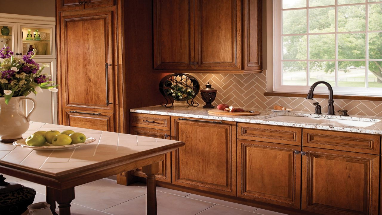 kitchen cabinet stain choices photo - 10