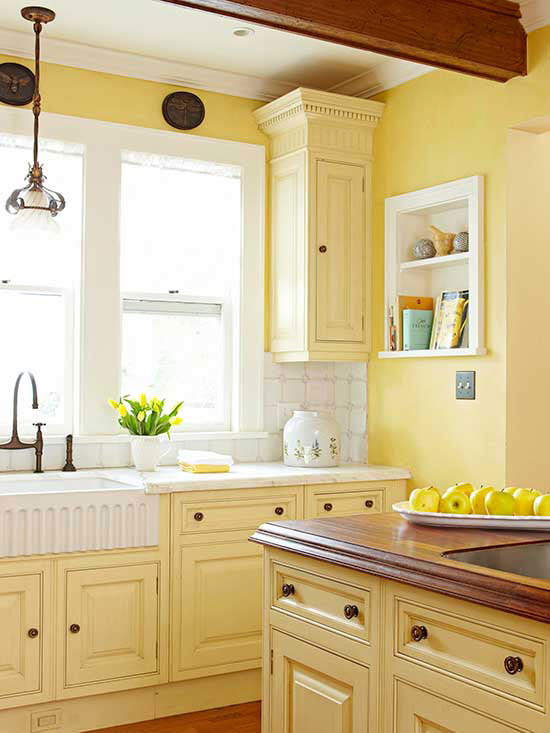 kitchen cabinet stain choices photo - 2