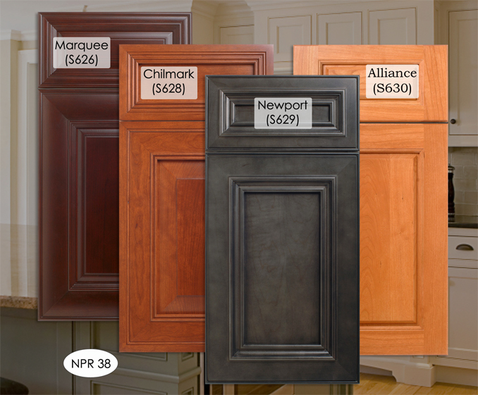 kitchen cabinet stain choices photo - 3