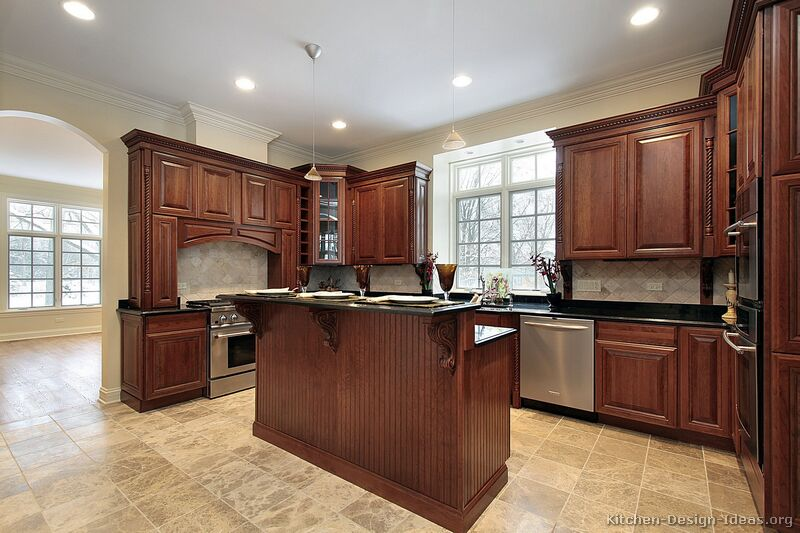kitchen cabinet stain choices photo - 6