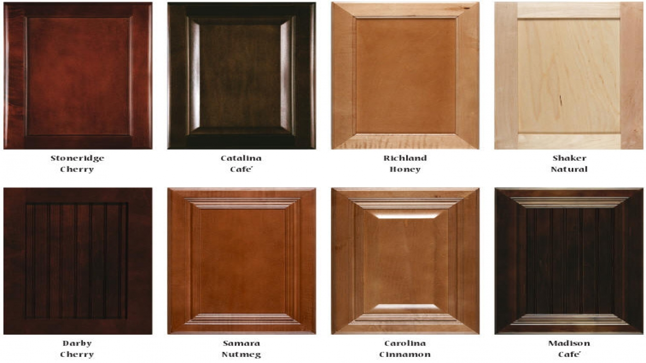 kitchen cabinet stain color chart photo - 10