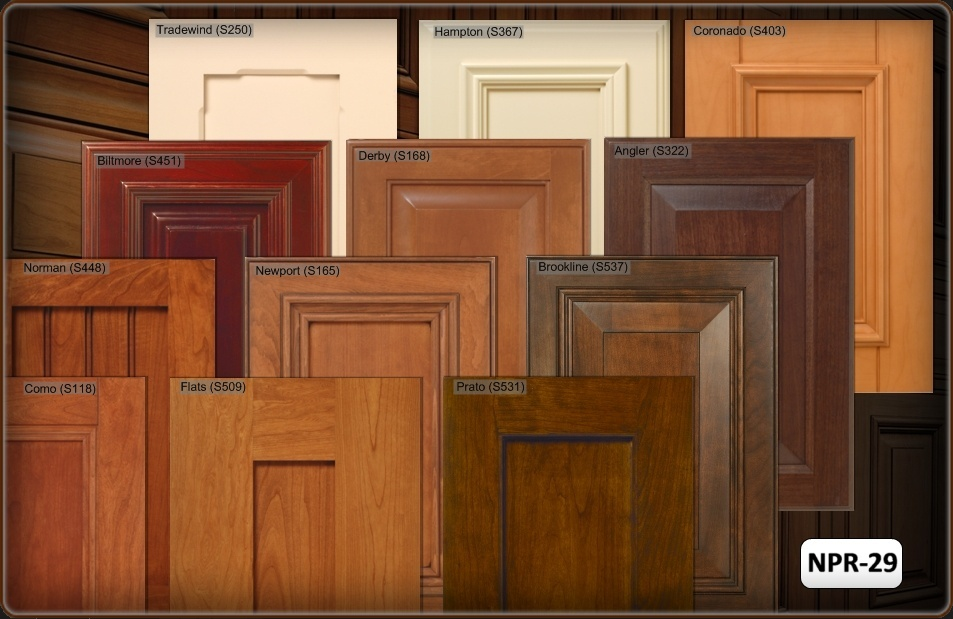kitchen cabinet stain color chart photo - 4