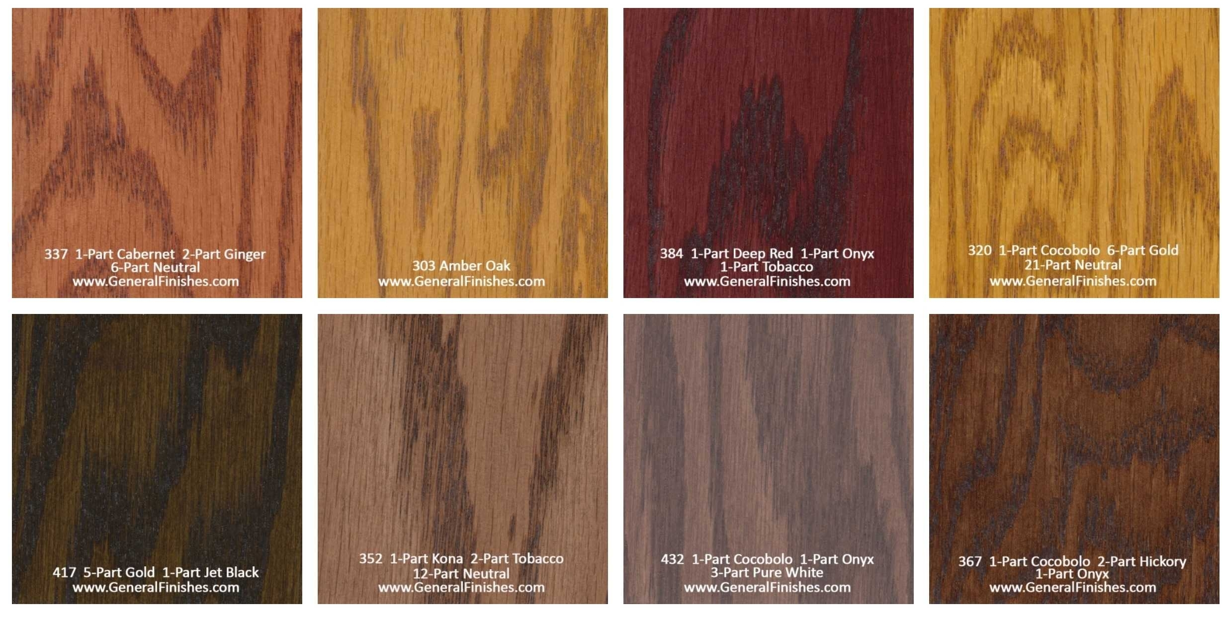 kitchen cabinet stain color chart photo - 7