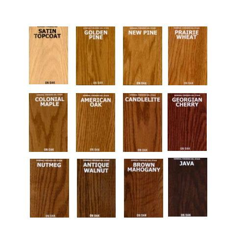 kitchen cabinet stain color chart photo - 9