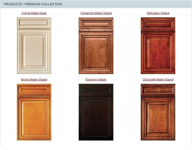 kitchen cabinet stain colours photo - 8