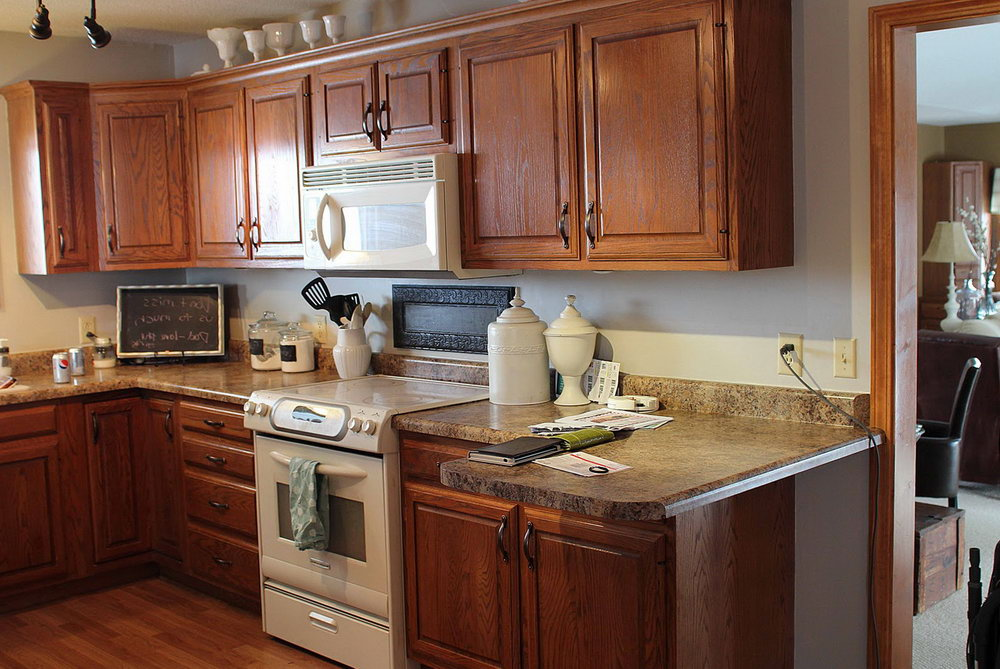 kitchen cabinet stain cost photo - 10