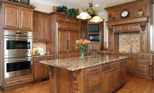 kitchen cabinet stain cost photo - 7