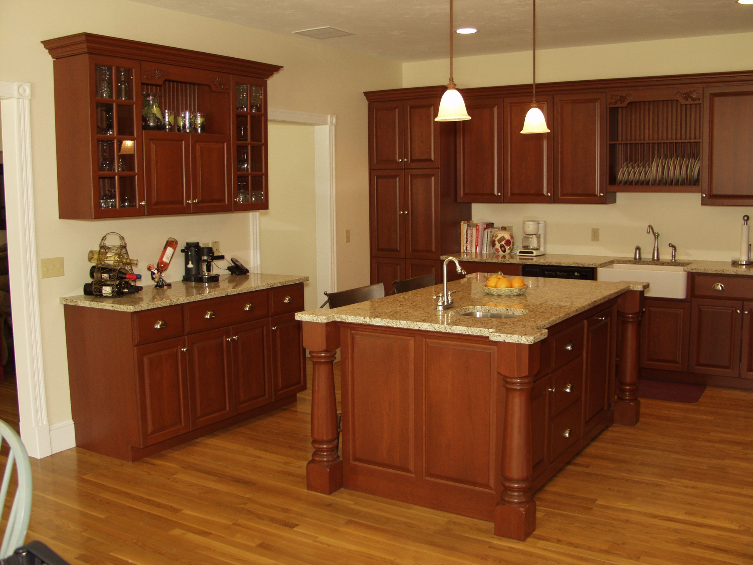 kitchen cabinet stain cost photo - 8