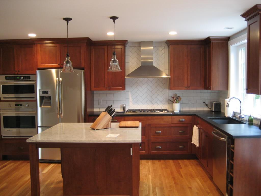 kitchen cabinet stain ideas photo - 6