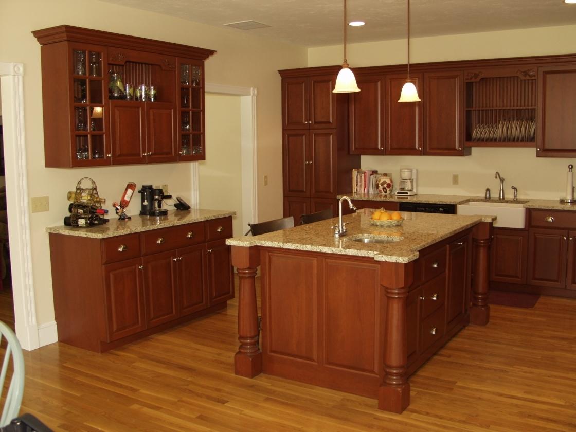 kitchen cabinet stain ideas photo - 9