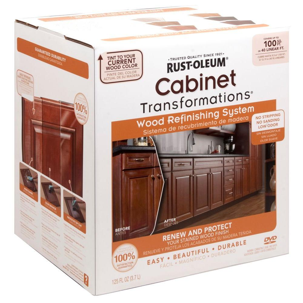 kitchen cabinet stain kit photo - 1
