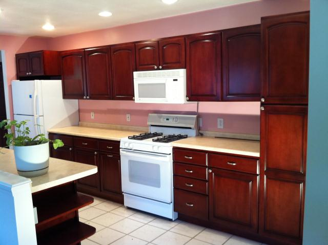 kitchen cabinet stain kit photo - 3