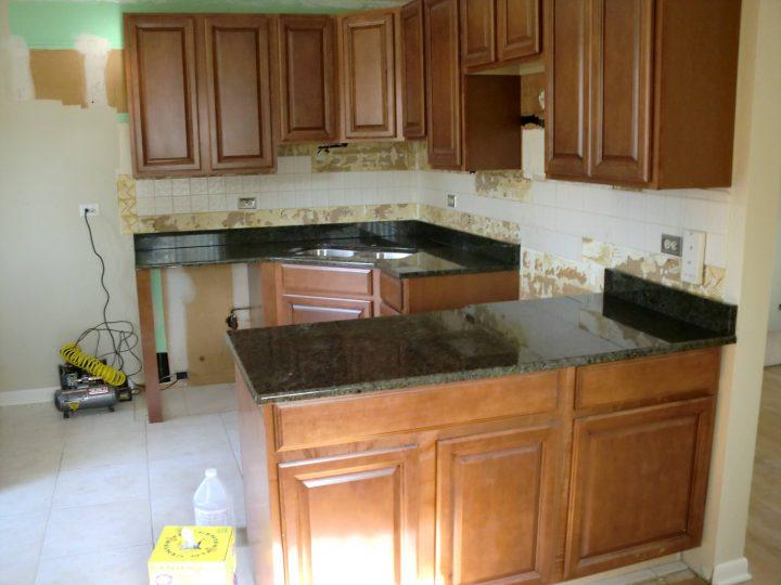 kitchen cabinet stain kit photo - 7